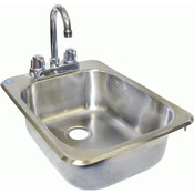 Space Save Drop-In Hand Sink HS-1317IHG NEW #3857
