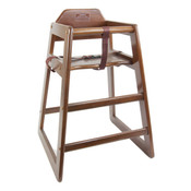Wooden Restaurant High Chair WDTHHC019 NEW #3893