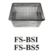 "5"" S/S Floor Sink Basket FS-BS5 (NEW) #3908"