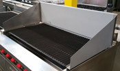 "48"" x 12"" High Back Splash For Char Broiler SRB-48-SB-12H (NEW) #4104"