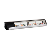 """71"""" Sushi Case Counter Top Display ESC71L (NEW) #3142 FREE SHIPPING"""
