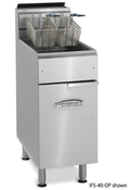 40LB S/S Gas Fryer Open Pot IFS-40OP (NEW) #4564