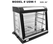 """27"""" Food Warmer Display Case UNIWORLD UDW-1 (NEW) #4553"""