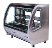 "74"" Refrigerated Display Case TEM-200-Al PLUS (NEW) #4934"