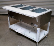 3 Well Electric Steam Table E303 AEROHOT (NEW) #2908