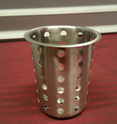 "4"" Flatware Basket - Stainless Steel THUNDER GROUP SLFC001 (NEW) #2172"