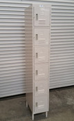 6 Door Employee Lockers GSW ELS-6DR NEW #2308