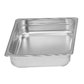 """1/2 Size Stainless Steel Insert Pan 2 1/2"""" Deep THUNDER GROUP STPA8122 (NEW) #6351"""