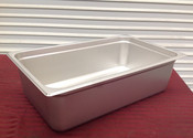 """1/2 Size Stainless Steel Insert Pan 6"""" Deep THUNDER GROUP STPA6126 (NEW) #2006"""