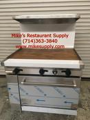 """36"""" Range Griddle & Oven Stratus SR-G36 NEW #7230"""