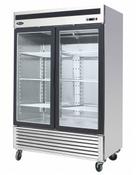 Bottom Mount 2 Glass Door Freezer MCF8703 (NEW) #2234
