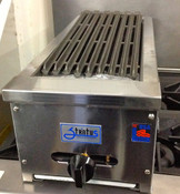 "12"" Radiant CharBroiler Grill SRB-12 NG Gas NEW #1051"