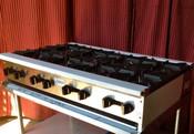 """48"""" 8 Burner Hot Plate SHP-48-8 NG Gas (NEW) #1236"""