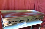"""60"""" Flat Top Griddle w/ 1"""" Plate SMG-60 NG Gas (NEW) #1256"""