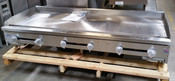 """72"""" Flat Top Griddle w/ 1"""" Plate SMG-72 NG Gas (NEW) #2897"""