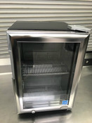Glass Door Counter Top Drink Display Cooler Refrigerator IDW G-1.5 NEW #8661