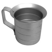 2 QT Liquid Aluminum Measure Cup ALKAM020 NEW #3584