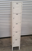 5 Door Employee Locker on Legs ELS-5DR NEW #2317