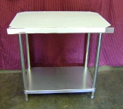 12X30 S/S Work Table NSF GSW WT-EE3012 (NEW) #2080