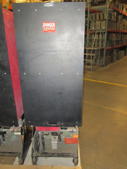 50 Dh 250e Westinghouse 1200a 4 76kv Air Circuit Breaker