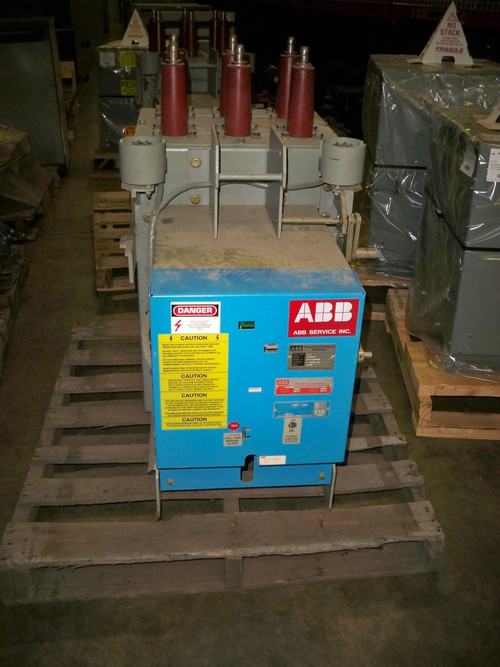 Ge Am5 100 Converted To Abb 5vkb R 250 1200a 4 76kv Vacuum