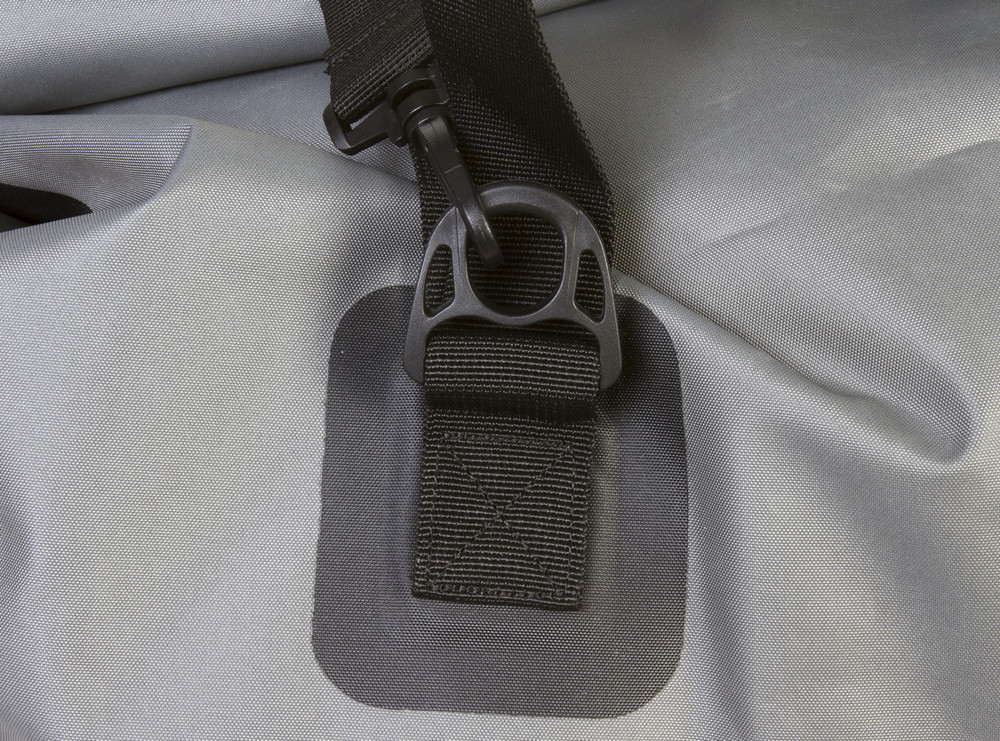 Four tie down buckles
