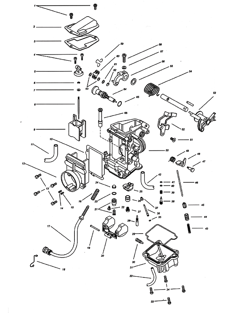 Tecumseh Walbro631940 Parts Diagram For Carburetor