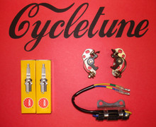 1961-1968 CL72, CB72, CL77, CB77 Tune Up Kit By Cycletune