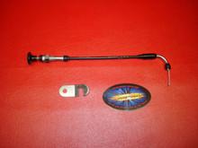 "Mikuni 10"" Choke Cable for HSR42 HSR45 HSR48 Carburetors"