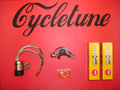 honda cb160 tune up kit by cycletune power barn. Black Bedroom Furniture Sets. Home Design Ideas