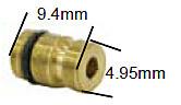 Keihin 99201-601-XXX Press Fit Type Primary Main Jets