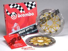 Brembo HP (HPK) Full Floating Brake Rotor Kit for Triumph