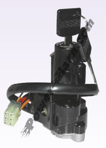 Ignition Key Switch OEM Replacement Suzuki GSF600, GSX-R600, GSX-R750, GSX-R1100, TL1000, GSF1200