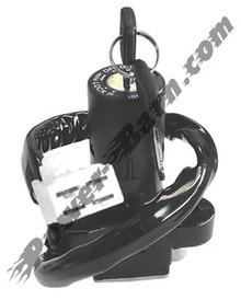 Ignition Key Switch OEM Replacement Suzuki GSF400, GS500, RF600, GSX-R600, GSX-R750, GSX-R1100, TL1000, GSF1200
