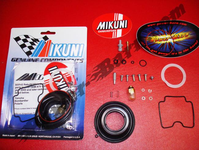 mikuni bsr42 carburetor rebuild kit mk bsr42 power barn rh power barn com