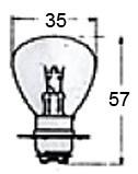 Headlight Bulb 12 Volt A5679R for Vintage Bikes