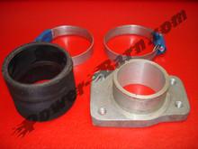 Manifold Adapter For Harley-Davidson Knucklehead / Panhead to Mikuni Carburetors