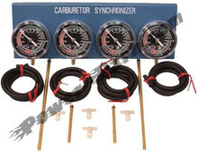 Emgo Carburetor Synchronization Vacuum Gauge Set