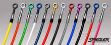 Spiegler High Performance 2-Line Braided Front Brake Line Kits for 1999-2012 Yamaha YZF-R6