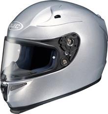 HJC RPS-10 Solid Light Silver Helmet