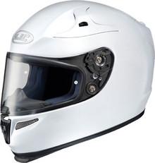 HJC RPS-10 Solid White Helmet