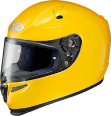 HJC RPS-10 Solid Dark Yellow Helmet