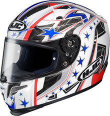 HJC RPS-10 Patriot MC-21 Helmet
