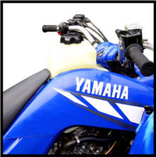 Clarke 4.9GAL Fuel Tank for Yamaha YFM Raptor ATV
