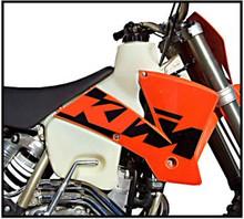 Clarke 3.1GAL Fuel Tank for 2003 KTM450EXC/MXC, KTM525EXC/MXC 4 Stroke Motorcycles