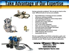 Carburetor Cleaning and Reconditioning Service