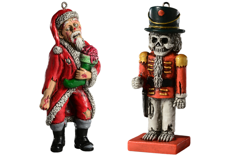 HorrorNaments Halloween Inspired Christmas Ornaments