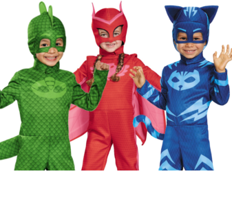 Pj Masks Halloween Costume.Kids Costumes For Halloween Blockbustercostumes Com