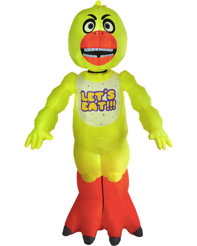 sc 1 st  BlockBuster Costumes & Five Nights At Freddyu0027s Chica Inflatable