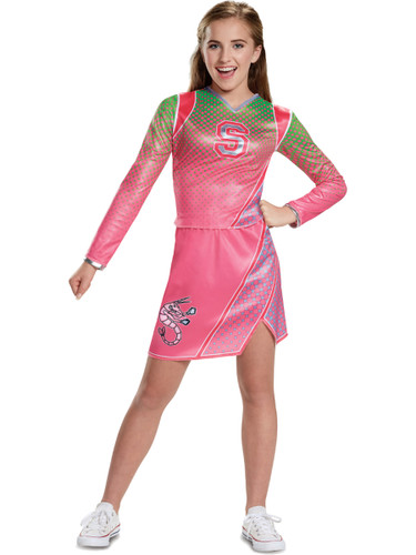 sc 1 st  BlockBuster Costumes & Disney Zombies Addison Cheerleader Girlu0027s Costume
